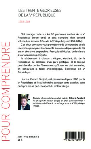 4eme Les Trente Glorieuses de la Ve République (1958-1988)