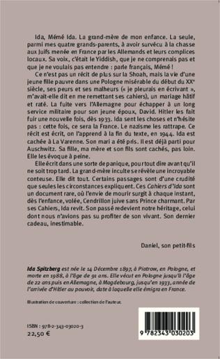 4eme Les cahiers d'Ida