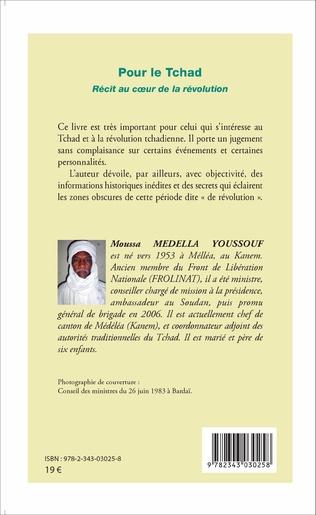 4eme Pour le Tchad