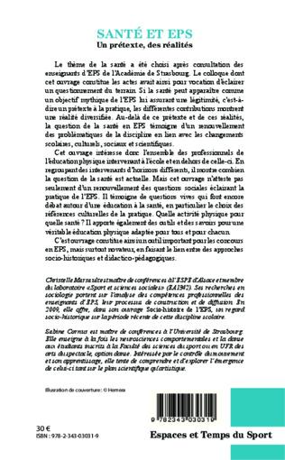 4eme Santé et EPS