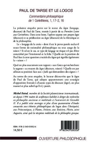 4eme Paul de Tarse et le logos