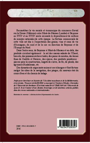 4eme Le commerce fluvial à Mont-de-Marsan du XVIIe au XVIIIe siècle