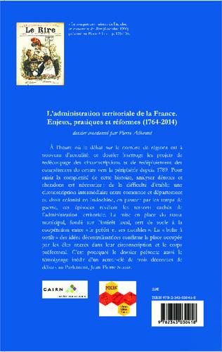 4eme L'administration territoriale de la France