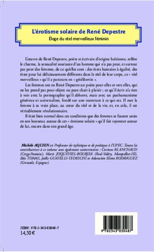 4eme L'érotisme solaire de René Depestre