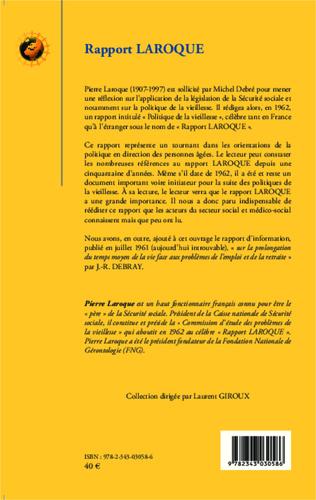 4eme Rapport Laroque