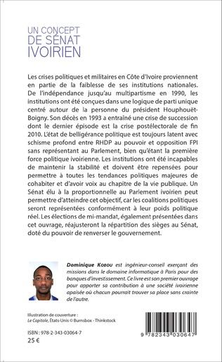 4eme Un concept de Sénat ivoirien