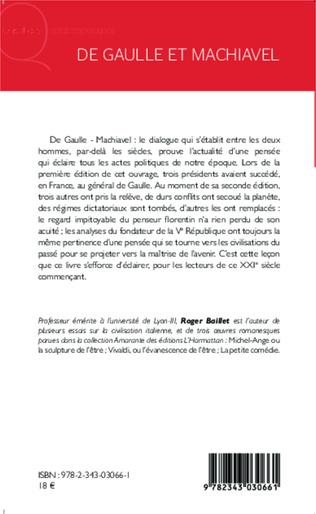 4eme De Gaulle et Machiavel
