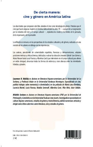 4eme De cierta manera : cine y généro en América latina