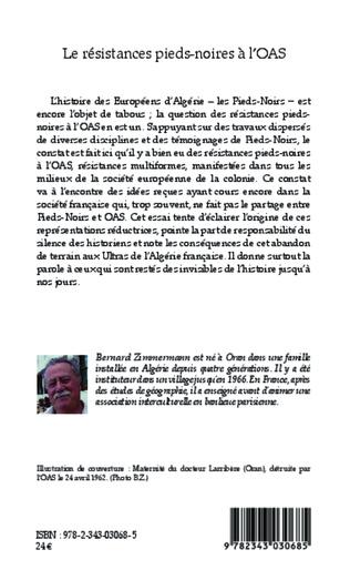 4eme Les résistances pieds-noires à l'OAS