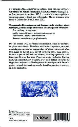 4eme Une mémoire pour demain : 30 ans de culture scientifique, technique et industrielle en France