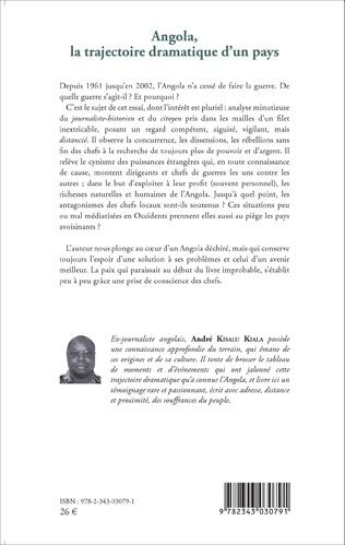 4eme Angola, la trajectoire dramatique d'un pays