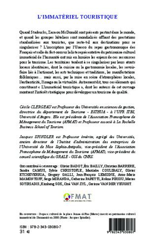 4eme L'immatériel dans l'expérience de magasi nage : proximités conceptuell es avec l'expérience touris tique et incidences managériales