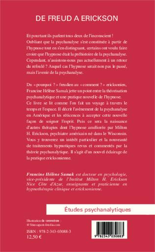 4eme De Freud à Erickson