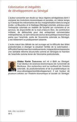 4eme Colonisation et inégalités au Sénégal