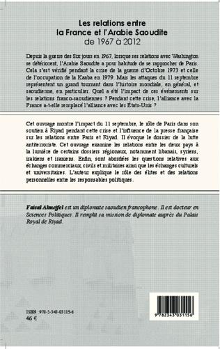 4eme Les relations entre la France et l'Arabie Saoudite