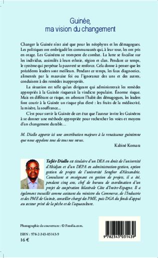 4eme Guinée, ma vision du changement