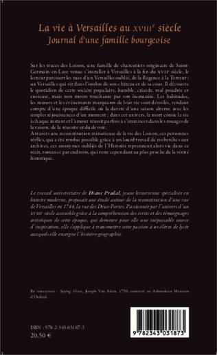 4eme La vie à Versailles au XVIIIe siècle