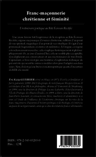 4eme Franc-maçonnerie chrétienne et féminité