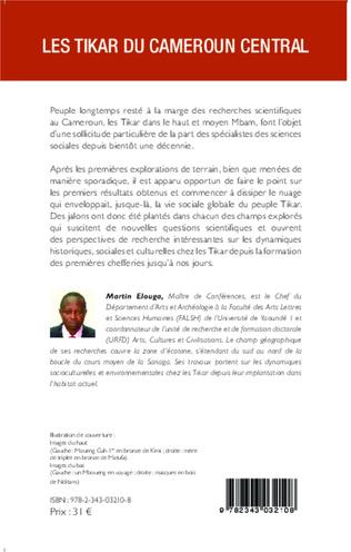 4eme Les Tikar du Cameroun central