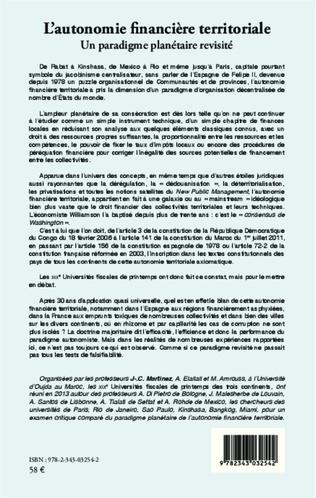 4eme PRESENTATION DES UNIVERSITÉS FISCALES DE PRINTEMPS