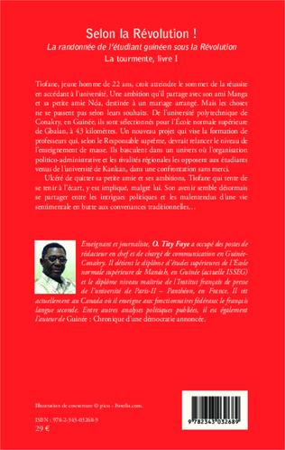 4eme Selon la Révolution ! La randonnée de l'étudiant guinéen sous la Révolution
