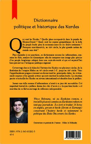 4eme Dictionnaire politique et historique des Kurdes