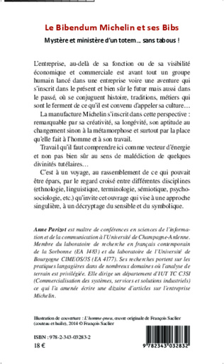 4eme Le Bibendum Michelin et ses Bibs