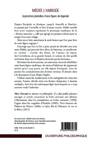 4eme Médée l'ambigüe