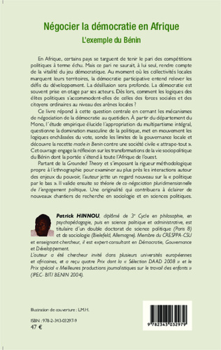 4eme Négocier la démocratie en Afrique
