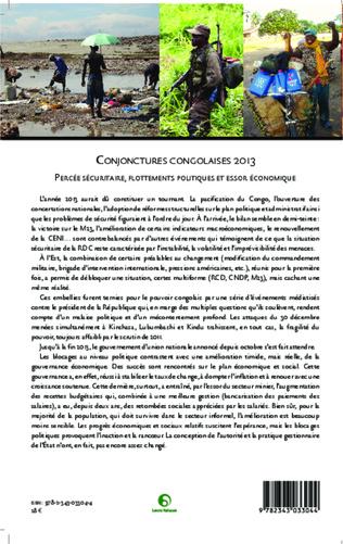 4eme Conjonctures congolaises 2013