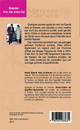 4eme Nasser, ma vie avec lui