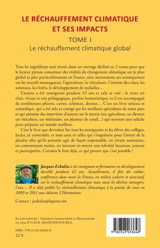 4eme Le réchauffement climatique et ses impacts