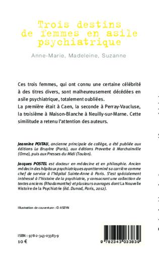 4eme Trois destins de femmes en asile psychiatrique