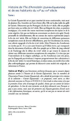 4eme Histoire de l'île d'Annobon (Guinée Equatoriale) et de ses habitants