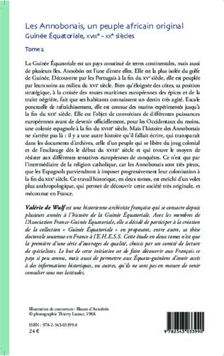 4eme Les Annobonais, un peuple africain original