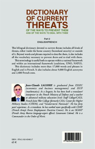 4eme Dictionary of curent threats