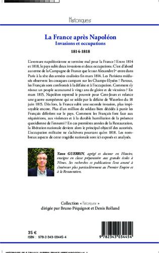 4eme La France après Napoléon