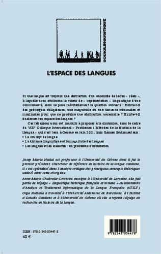 4eme L'espace des langues