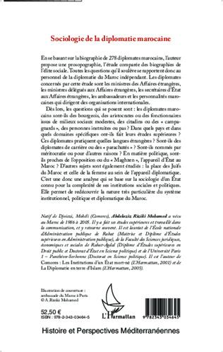 4eme Sociologie de la diplomatie marocaine