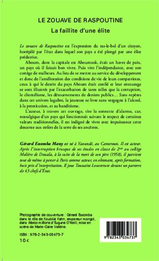 4eme Le zouave de Raspoutine