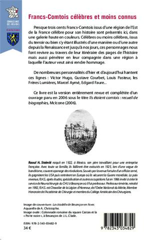 4eme Francs-Comtois célèbres et moins connus