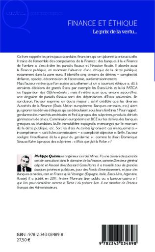 4eme Finance et éthique