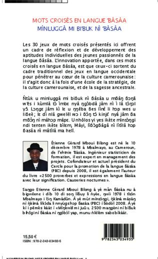 4eme Mots croisés en langue bàsàa