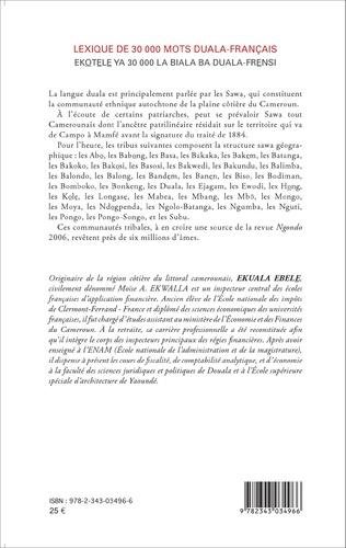 4eme Lexique de 30 000 mots duala-français