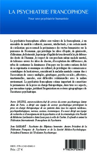 4eme La psychiatrie francophone