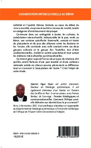 4eme Cohabitation interculturelle au Bénin