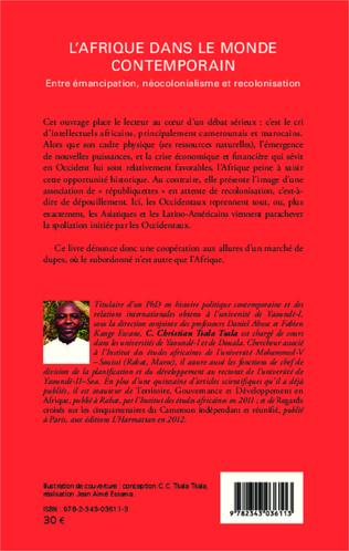 4eme L'Afrique dans le monde contemporain