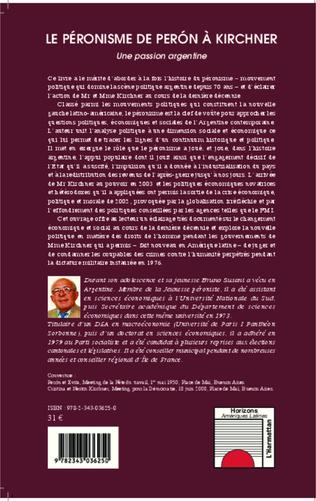4eme Le péronisme de Perón à Kirchner