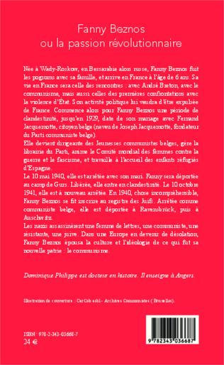 4eme Fanny Beznos ou la passion révolutionnaire