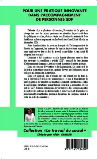 4eme Pour une pratique innovante dans l'accompagnement des personnes SDF